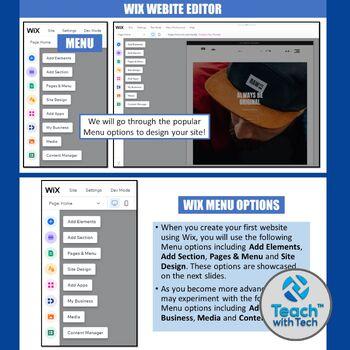 Wix Build a Website Lesson & Activities