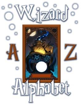 Wizard Alphabet Flashcards