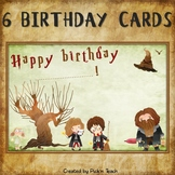 Wizard ✰ BIRTHDAY CARDS ✰ for Harry Potter fans