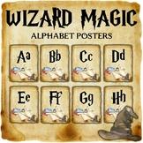Wizard Classroom Decor: Alphabet Posters
