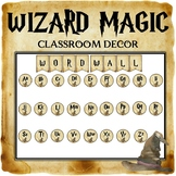 Wizard Classroom Decor: Word Wall Headers