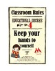 Wizard Classroom Rules