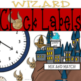 Wizard Theme Clock Labels: Perfect for Your Magical Classr