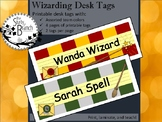 Wizard Desk Tags / Nameplates