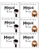 Wizard First Day Gift Tags