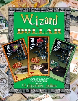 "Wizard ""Harry Potter"" Fun Money Set"