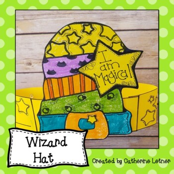 Halloween Craft, October Craft, Fall Craft, Wizard's Hat!