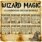 Wizard Magic Classroom Decor Bundle