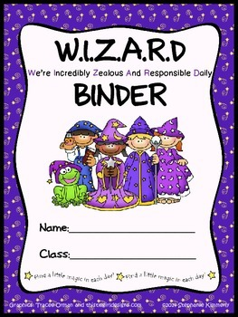 Wizard {Magical} Binder Cover