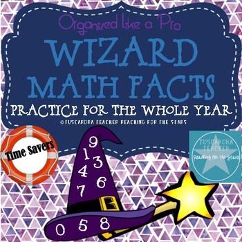 Wizard Math Facts