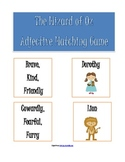Wizard Of Oz Adjective Matching Game
