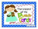 Wizard Of Oz Behavior Punch Card