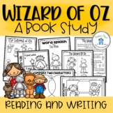 Wizard Of Oz Book Study Reading and Writing Printables