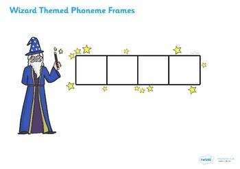 Wizard Phoneme Frames