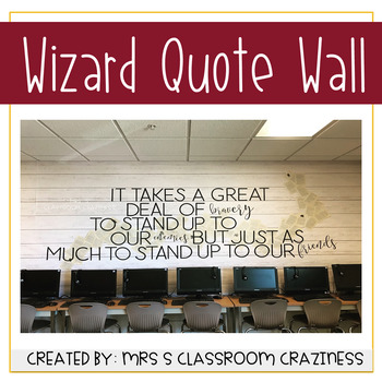 Wizard Quote Wall