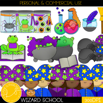 Wizard School Clip Art