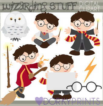 Wizard School Clipart