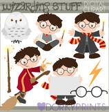 Wizard School Clipart