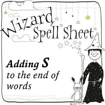 Wizard Spell Sheets: Adding S to the end of words