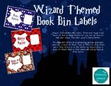 Wizard Book Bin Labels