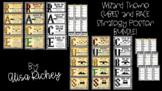 Wizard Theme CUBES & RACE Strategy Poster BUNDLE