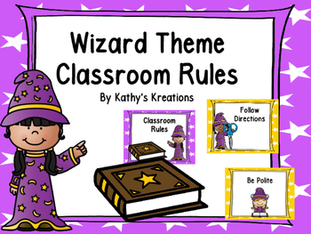 Wizard Theme Class Rules
