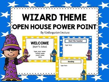 Wizard Theme Open House Power Point