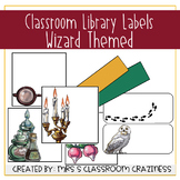 Wizard Themed Library Labels