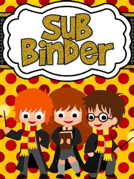 Wizard Themed Sub Binder