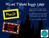 Wizard Supply Labels