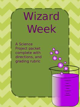 Wizard Week Packet * Editable