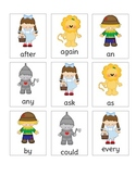 Wizard of OZ Dolch 1st Grade List Sight Word Game
