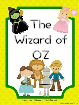 Wizard of OZ Mini Packet