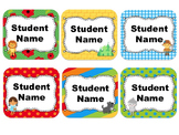 Wizard of OZ Themed Student Name Cards {Editable}