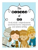 Wizard of Oz - Exemplar Text {Comp. Questions,Organizers, Movie/Book Comparison}