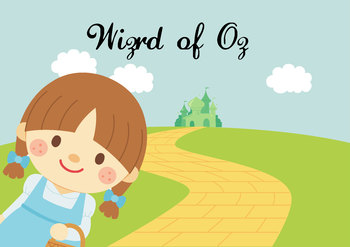 NO PREP! Wizard of Oz Fairy Tales Story and Coloring Book