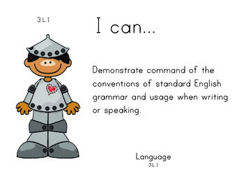 Wizard of Oz 3rd grade English Common core standards posters