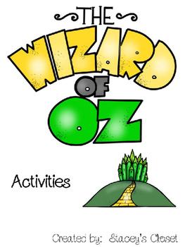 Wizard of Oz Activities