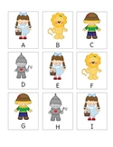 Wizard of Oz Alphabet Game: Uppercase Letters