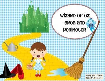 Area and Perimeter -Wizard of Oz