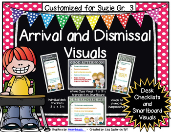 Wizard of Oz Arrival and Dismissal Routine Visuals CUSTOMI