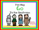 Wizard of Oz Bathroom & Hall Passes 2