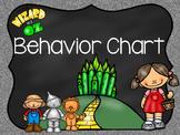 Wizard of Oz Behavior Chart