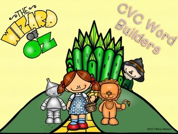 Wizard of Oz CVC Word Builders