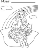 Wizard of Oz Character Coloring Sheets