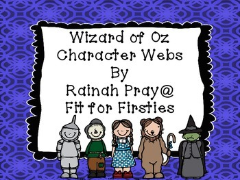 Wizard of Oz Character Webs