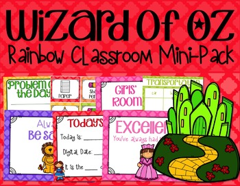 Wizard of Oz Classroom: Rainbow