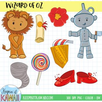 Wizard of Oz Clip Art Collection