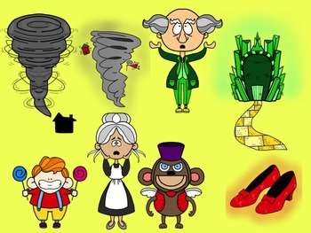 Wizard of Oz Clipart Collection for Commercial or Personal Use