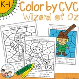 Wizard of Oz Color by CVC Word